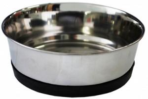 УЮТ Уют Миска металлическая утяжеленная, не скользящая 0,48 л АМР048 Kormberi.ru магазин товаров для ваших животных