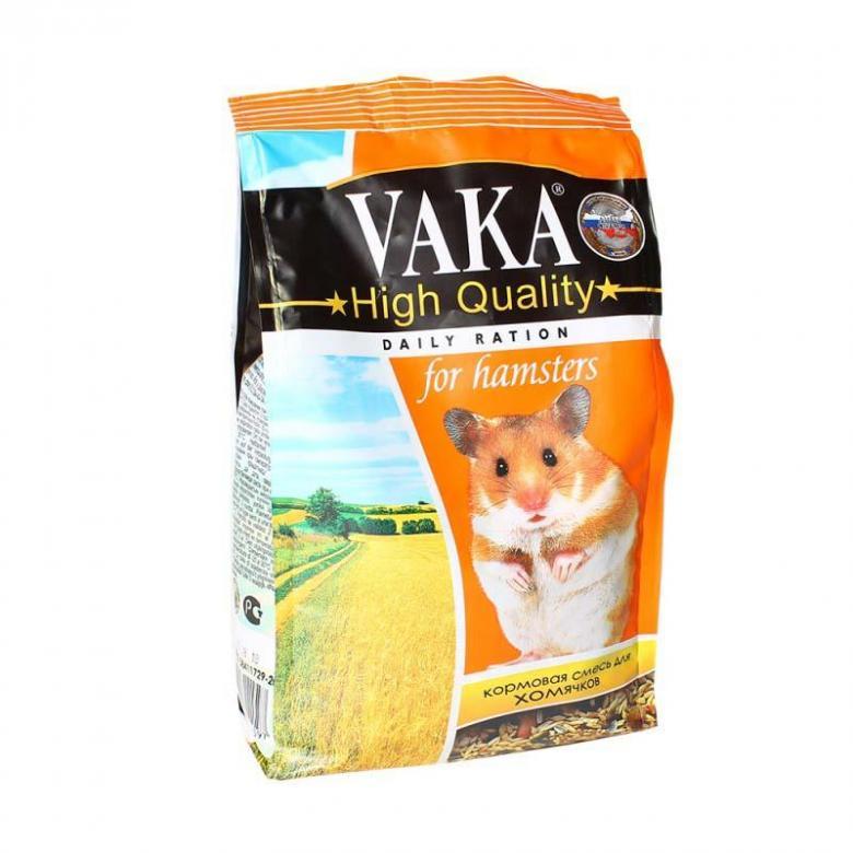 Вака Корм ВАКА High Quality д/хомячков 500г (уп10) Kormberi.ru магазин товаров для ваших животных