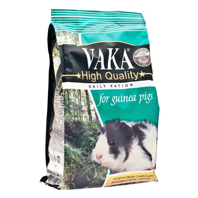 Вака Корм ВАКА High Quality д/морских свинок 500г (уп10) Kormberi.ru магазин товаров для ваших животных