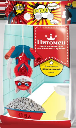 Питомец Наполнитель впитывающий кристальный норма ТМ Питомец 25кг Kormberi.ru магазин товаров для ваших животных