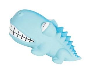 №1 №1 Игрушка для собак Крокодильчик с пищалкой, латекс, 8см, (288шт) ЛС82 Kormberi.ru магазин товаров для ваших животных