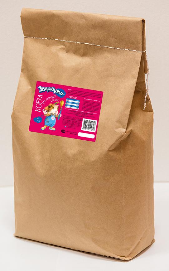 """Зверюшки """"Зверюшки"""" корм для морских свинок  5 кг Kormberi.ru магазин товаров для ваших животных"""