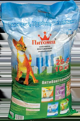 Питомец Наполнитель силикагелевый ТМ Питомец  15 кг * Kormberi.ru магазин товаров для ваших животных