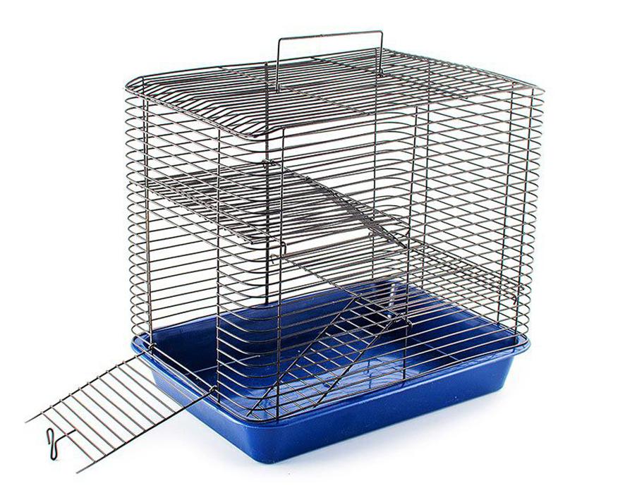 №1 №1 Клетка д/грызуна 33х24х30 см, 2 этажа РПК20 Kormberi.ru магазин товаров для ваших животных