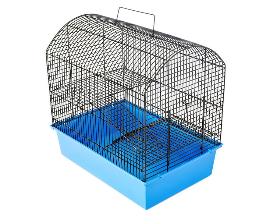 №1 №1 Клетка д/грызуна с 2 этажами, 37х26х36 РПК25 Kormberi.ru магазин товаров для ваших животных