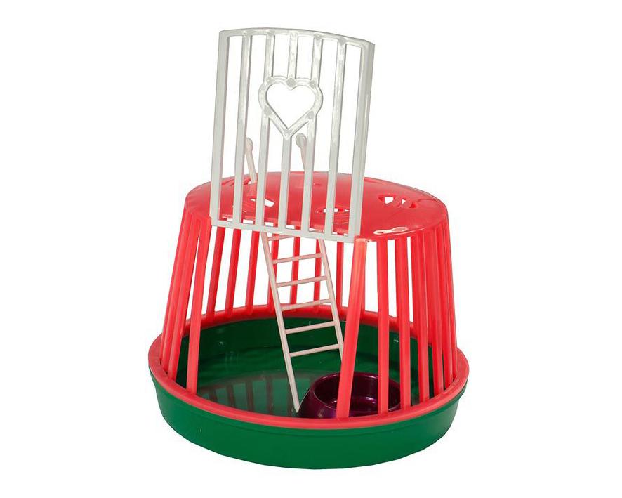 №1 №1 Переноска для мелких грызунов, лесенка, миска в комплекте РПГ01 Kormberi.ru магазин товаров для ваших животных