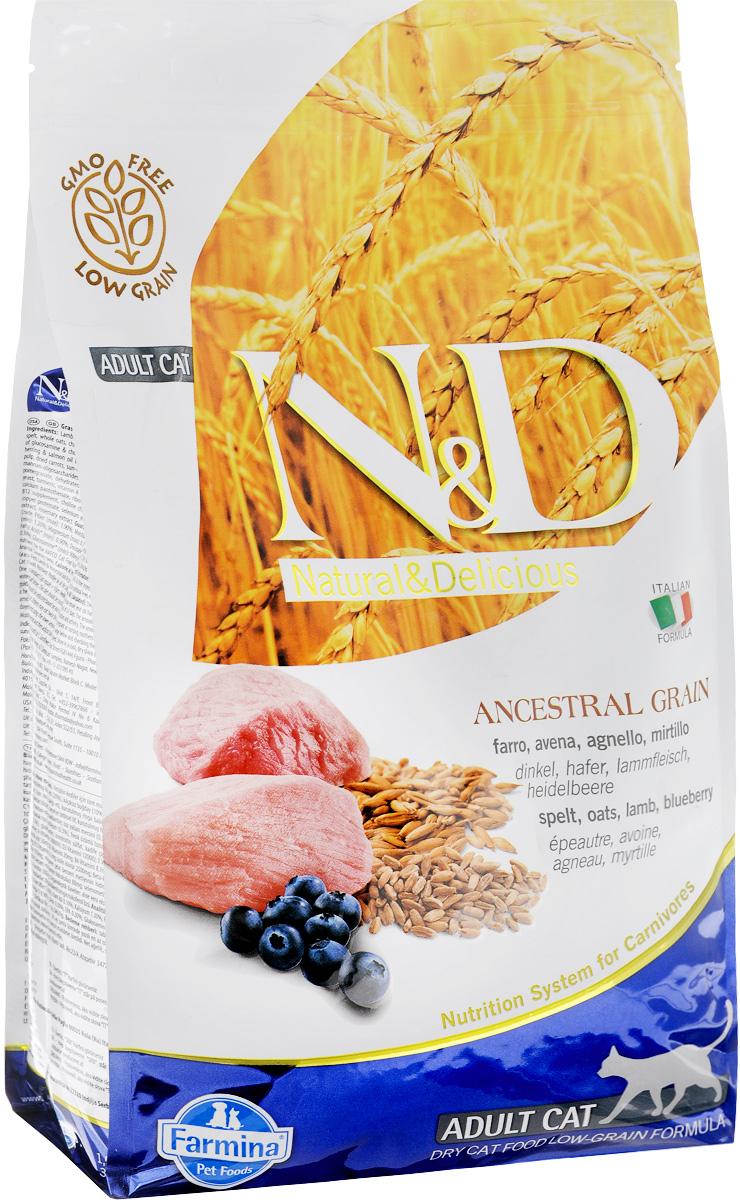 N&D AG (  300г) д/к низкозерн. Ягнёнок Черника (lamb blueberri) Adult (уп30) Kormberi.ru магазин товаров для ваших животных