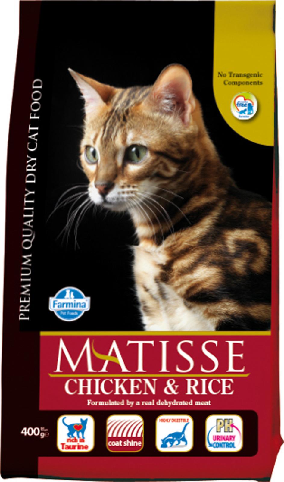MATISSE ( 400г) д/к Курица Рис (chicken rice) (уп24) Kormberi.ru магазин товаров для ваших животных