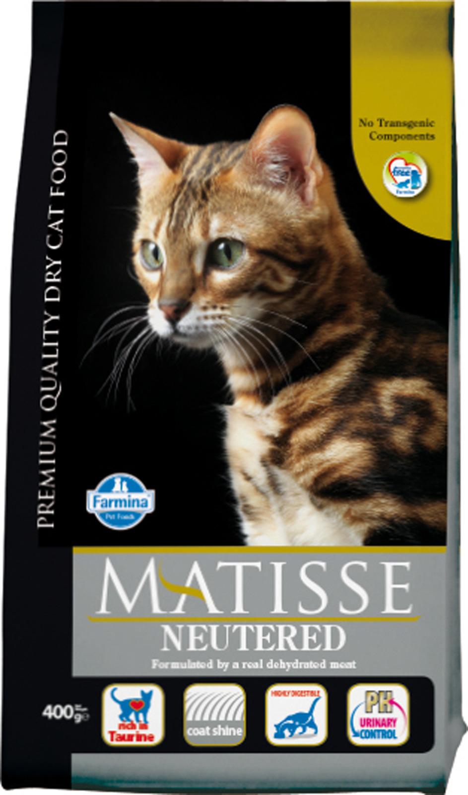 MATISSE ( 400г) д/к  стерилиз. Neutered (уп24) Kormberi.ru магазин товаров для ваших животных