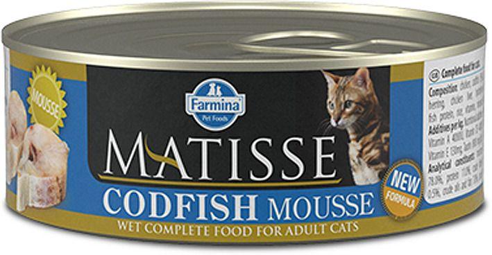 Matisse ( 85г) д/к мусс Треска (codfish) Mousse Kormberi.ru магазин товаров для ваших животных