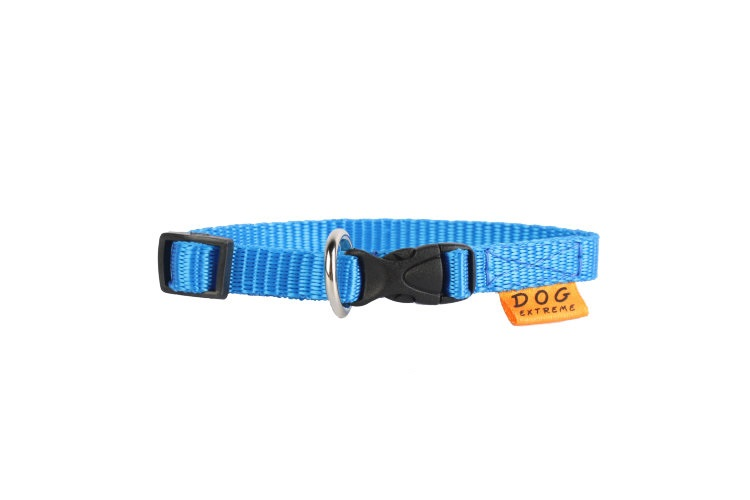 """Collar Ошейник-10 нейлон регулируемый """"Dog Extremе"""" синий 42842 Kormberi.ru магазин товаров для ваших животных"""