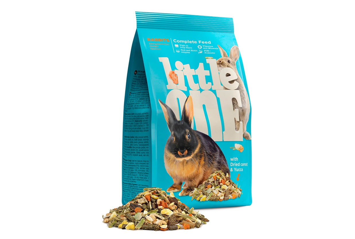 Little One Little One для кроликов 400 гр Kormberi.ru магазин товаров для ваших животных