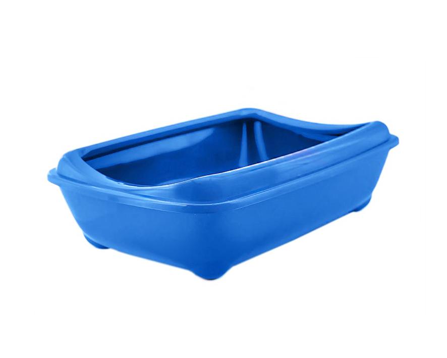 №1 №1 Туалет для кошек глубокий с бортом 43*30*12 см пластик Kormberi.ru магазин товаров для ваших животных