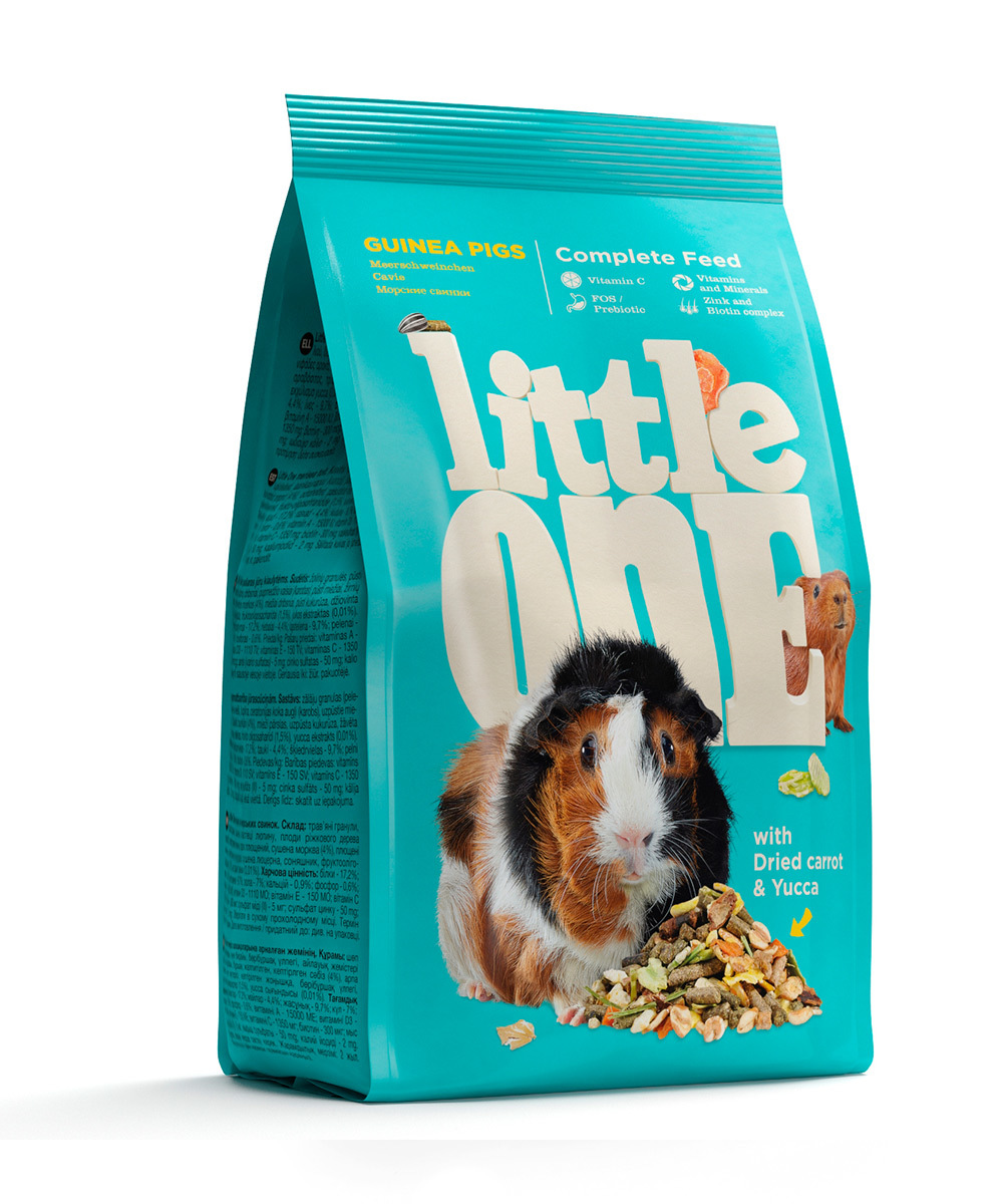 Little One Little One (400г) д/морских свинок (10шт) Kormberi.ru магазин товаров для ваших животных