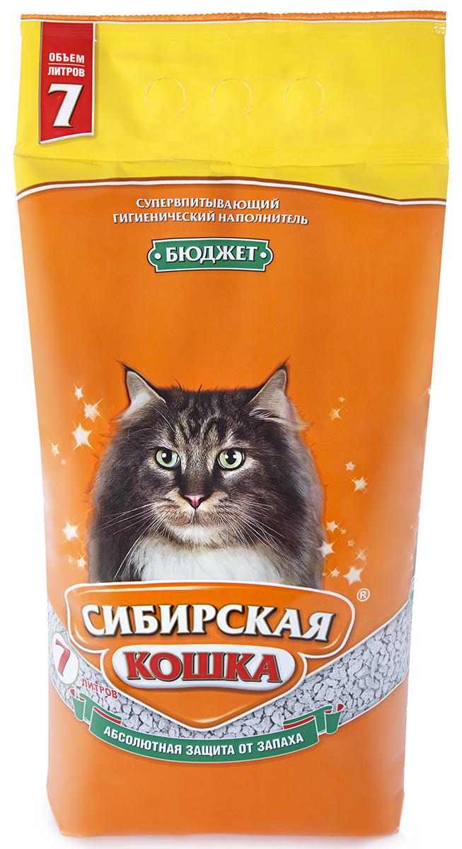 Сибирская кошка СИБИРСКАЯ КОШКА наполн.  7л БЮДЖЕТ(впитывающий) (уп2) Kormberi.ru магазин товаров для ваших животных