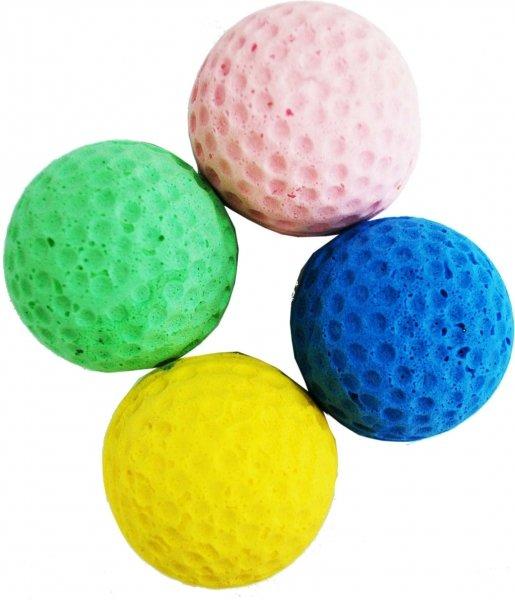 УЮТ Мяч 4см одноцветный ИУ64 (уп25) Kormberi.ru магазин товаров для ваших животных