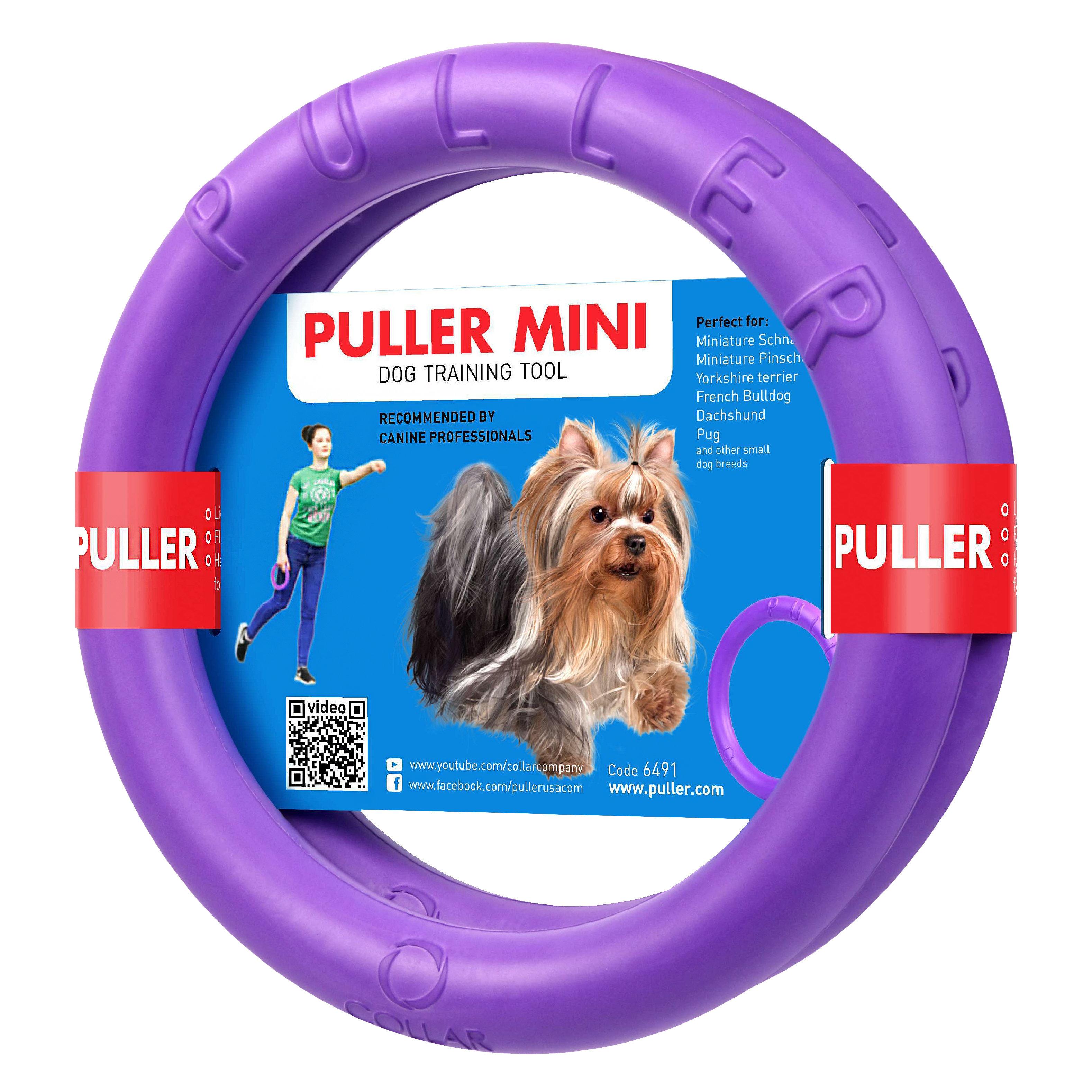 PULLER Тренировочный снаряд для собак PULLER Mini, диаметр 18см 6491 Kormberi.ru магазин товаров для ваших животных