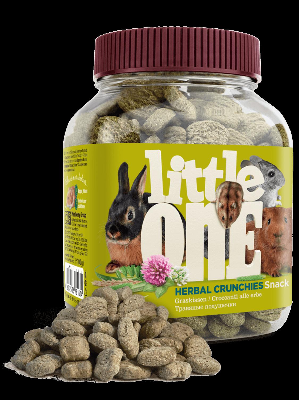 """Little One Little One Лакомство для грызунов """"Травяные подушечки"""" 100 гр Kormberi.ru магазин товаров для ваших животных"""