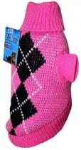 УЮТ Свитер розовый с орнаментом 20 см размер XC НM11XC Kormberi.ru магазин товаров для ваших животных
