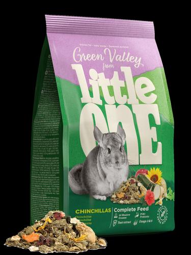 """Little One Little One (750г) д/шиншилл """"Зелёная долина"""" Разнотравье (4шт) Kormberi.ru магазин товаров для ваших животных"""