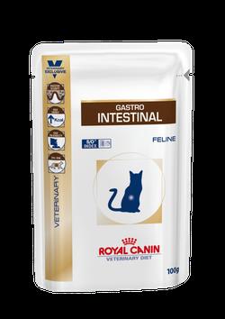 Royal Canin Royal Canin Гастро интестинал Gastro Intestinal Feline 100 гр пауч Kormberi.ru магазин товаров для ваших животных