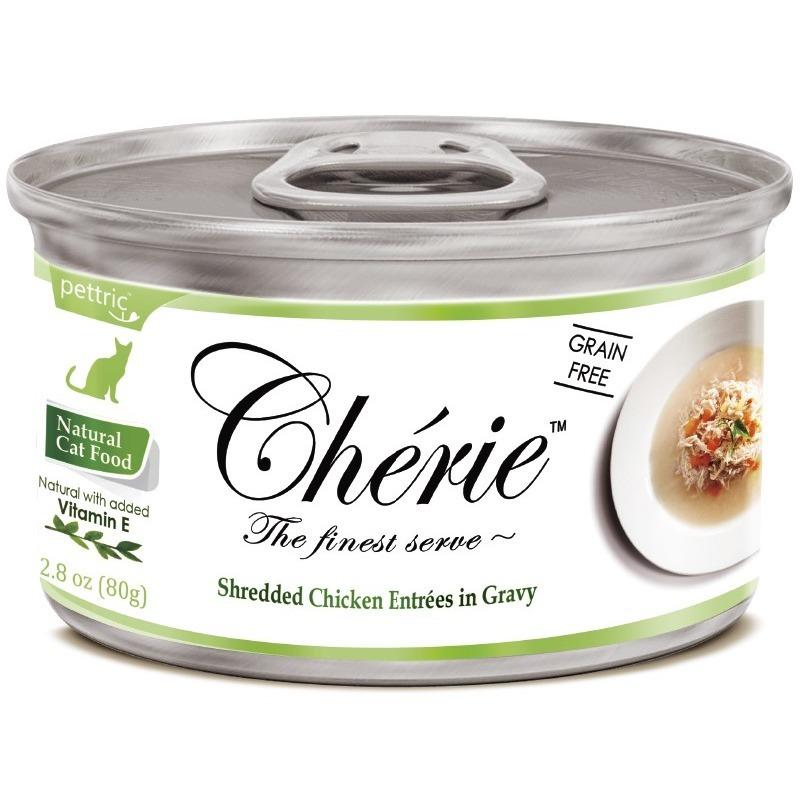 PETTRIC (ПЕТРИК) Cherie in Gravy (80г) д/к Размельчённая Курица Овощи в подливке Kormberi.ru магазин товаров для ваших животных