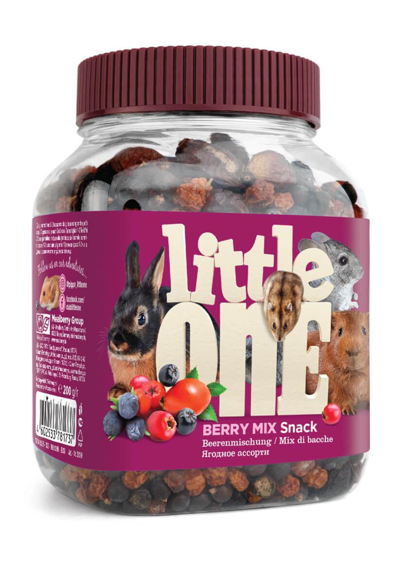 """Little One Little One Лакомство для грызунов """"Ягодное ассорти"""" 200 гр Kormberi.ru магазин товаров для ваших животных"""