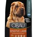 Farmina CIBAU (12кг) для собак средн. крупн. чувствит. пищ-е Ягнёнок Sensitive Medium Max Kormberi.ru магазин товаров для ваших животных