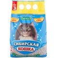 Сибирская кошка СИБИРСКАЯ КОШКА ЭФФЕКТ (впитывающий) 3 л Kormberi.ru магазин товаров для ваших животных