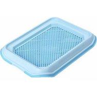 №1 Туалет д/собак с решеткой 33*45см голубой МАК10 Kormberi.ru магазин товаров для ваших животных