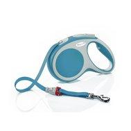 Флекси 5 м 25 кг Vario tape M бирюзовый (turquoise), Рулетка-ремень Kormberi.ru магазин товаров для ваших животных
