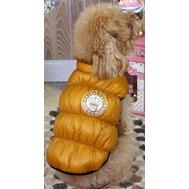 Куртка на молнии без рук золотая S ДА1234АС Kormberi.ru магазин товаров для ваших животных
