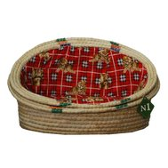 №1 №1 Лежанка-ракушка рис. соломка 1 55х40х28 см 2007/1 Kormberi.ru магазин товаров для ваших животных