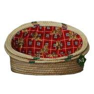 №1 №1 Лежанка-ракушка рис. соломка 2 58х43х30 см 2007/2 Kormberi.ru магазин товаров для ваших животных