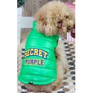 Куртка без рук заклепки зеленая XC ДА1207АХС Kormberi.ru магазин товаров для ваших животных
