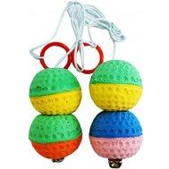 2 мяча на веревке, погремушка 8*4см ИУ11 Kormberi.ru магазин товаров для ваших животных