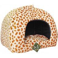 №1 №1 Лежанка Фэшн 814197 лежак юрта леопардовый оранжевая 50*14см Kormberi.ru магазин товаров для ваших животных