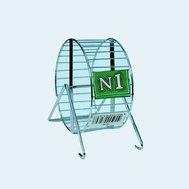 №1 №1 Колесо для грызунов, хром. d13 0,125кг Дк05 Kormberi.ru магазин товаров для ваших животных