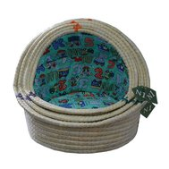 №1 №1 Лежанка-ракушка 2003/1 плетеная 42х35х6 см 0,74кг Kormberi.ru магазин товаров для ваших животных