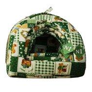 №1 №1 Лежак-юрта 8036/4 зел-беж. 40*40*36*10см (1х4) Kormberi.ru магазин товаров для ваших животных