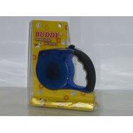 """Buddy Поводок РУЛЕТКА """"BUDDY"""" В БЛИСТЕРЕ 3м НА 8кг TD-9002 (К-Й) Kormberi.ru магазин товаров для ваших животных"""