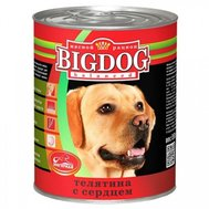 ЗООГУРМАН BIG DOG (850г) д/с ж/б Телятина Сердце (уп9) Kormberi.ru магазин товаров для ваших животных