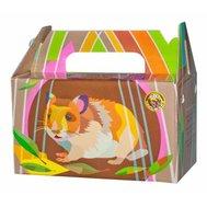 Переноска картонная ВАКА для хомяков и мышей 1/150 Kormberi.ru магазин товаров для ваших животных