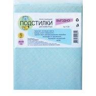 Подстилки впитывающие, гелевые,  S (45*60см), 1*5шт К-20 Kormberi.ru магазин товаров для ваших животных
