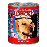 ЗООГУРМАН BIG DOG (850г) д/с ж/б Мясное ассорти (уп9) Kormberi.ru магазин товаров для ваших животных