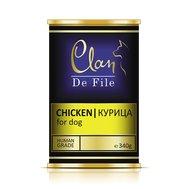 Clan CLAN De File (340г) д/с ж/б Курица (уп-12шт) №63 Kormberi.ru магазин товаров для ваших животных
