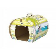 Домик Морская прогулка (картон) 42х34х31 001598 Kormberi.ru магазин товаров для ваших животных