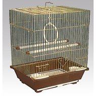 Клетка д/птиц 105-G 30х23х39см (ЗОЛОТАЯ) (уп20) Kormberi.ru магазин товаров для ваших животных