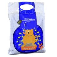 Хочу Ещё Наполнитель золотой  бентонитовый ультра 10 кг (уп2) + Лакомство 35 г Kormberi.ru магазин товаров для ваших животных
