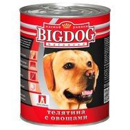 ЗООГУРМАН BIG DOG (850г) д/с ж/б Телятина Овощи (уп9) Kormberi.ru магазин товаров для ваших животных